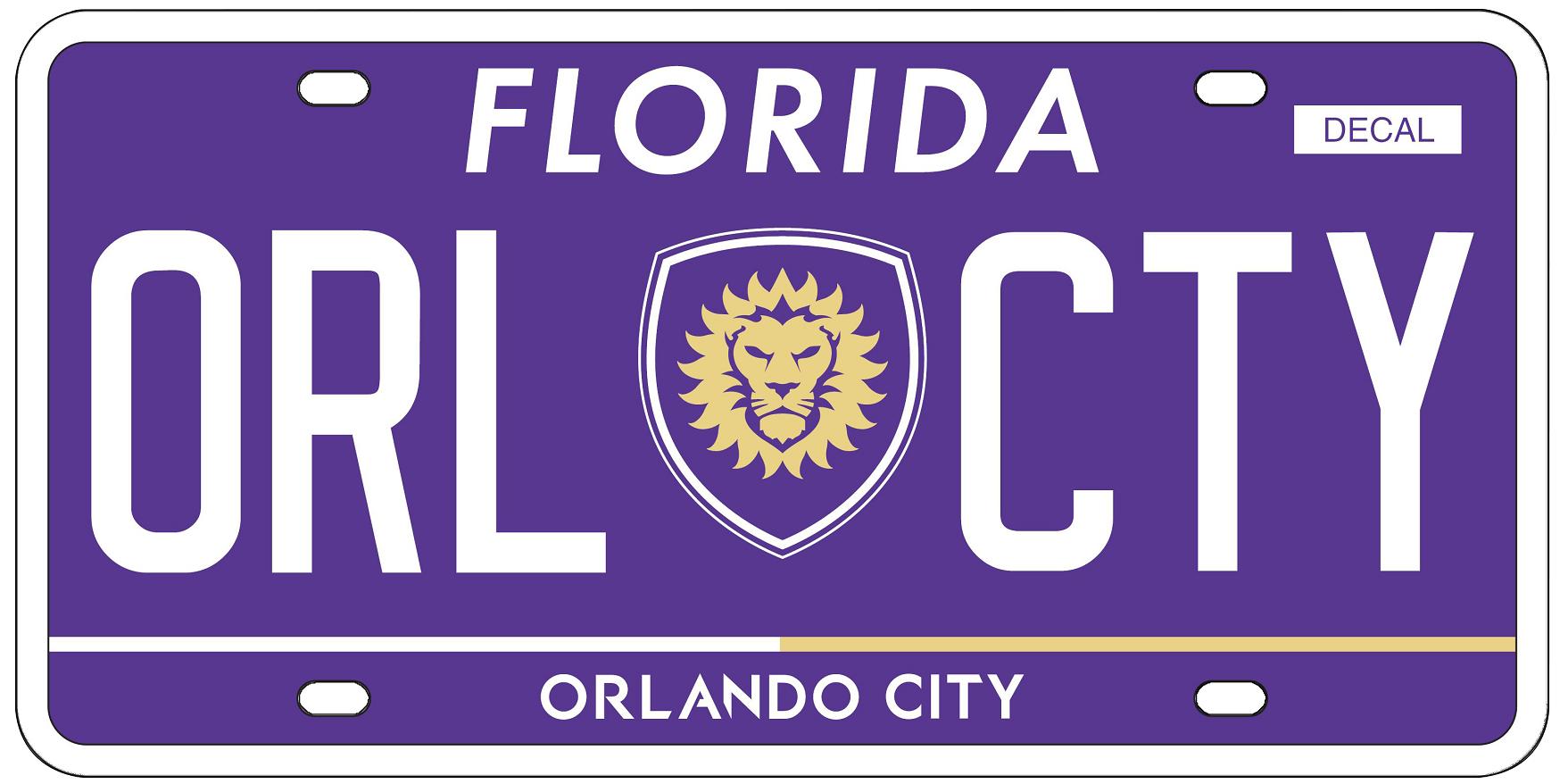 Orlando City Soccer Club Plate